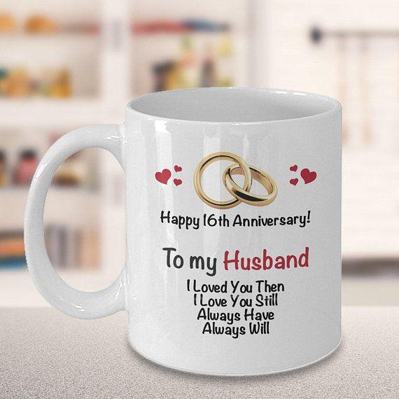 16th Anniversary Gift Ideas For Husband 16th Wedding Anniversary