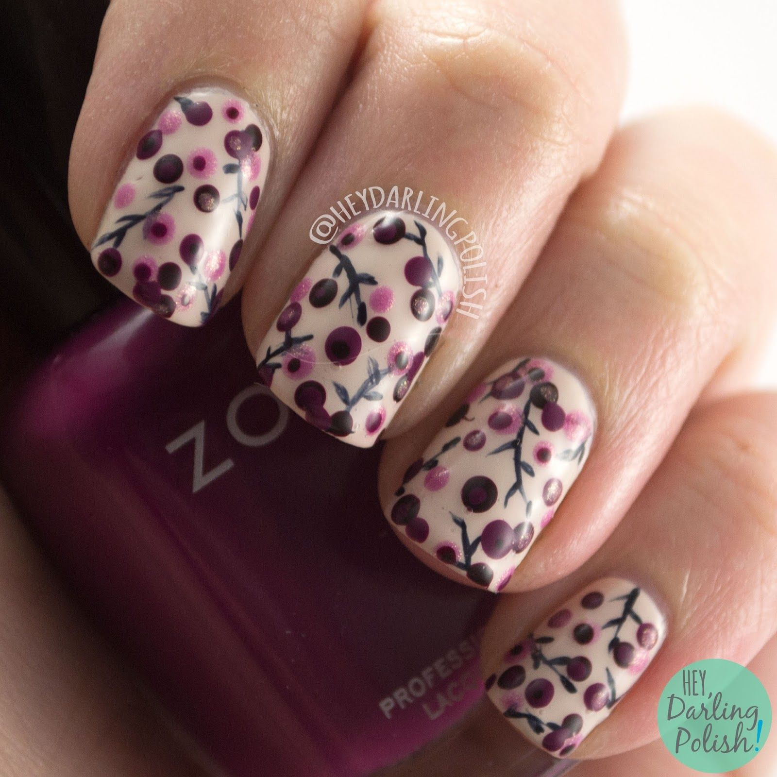 Hey Darling Polish 31 Day Challenge 2015 Dotting Tools Nails B