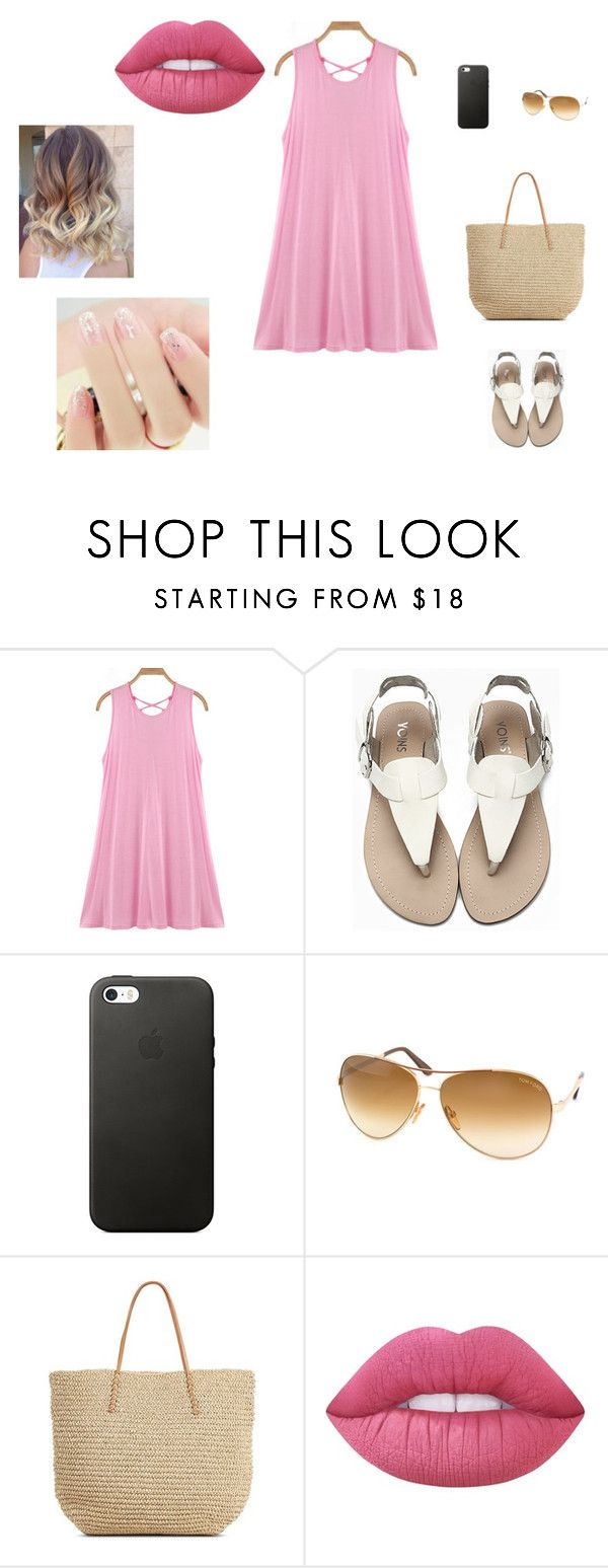 """""""Sans titre #14"""" by fashionlove-328 ❤ liked on Polyvore featuring Tom Ford, Target and Lime Crime"""