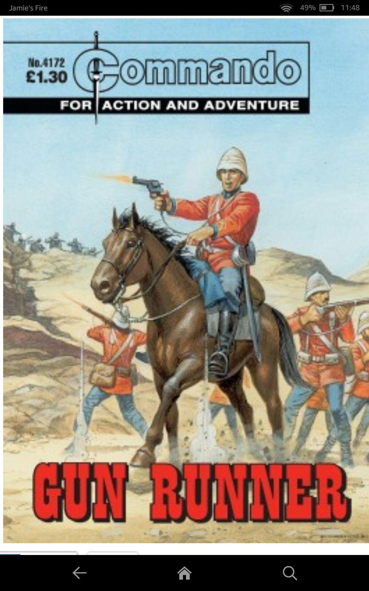 Pin by William Grader on British War Comics 2 Chestnut