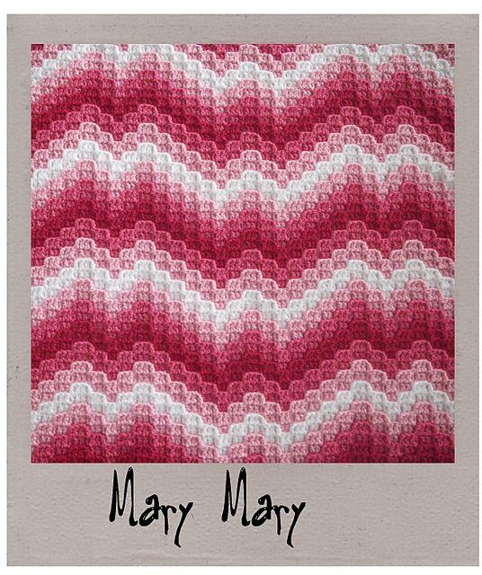 Ravelry: Not Your Nana\'s Needlework - Bargello Crochet pattern by ...