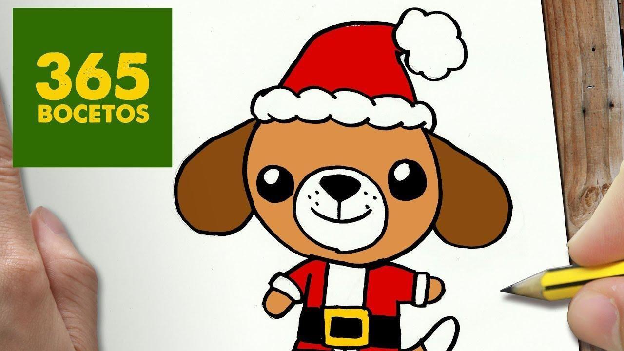 Calcetin Navidad 365 Boceto Dibujo Kawaii Www Dibujos Kawaii Como Dibujar Un Perro Dibujos Kawaii 365