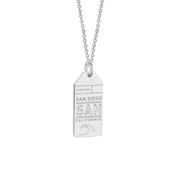 Jet Set Candy SAN San Diego Luggage Tag Charm from www.myjetsetcandy.com ✈ Collect Your Adventures ✈