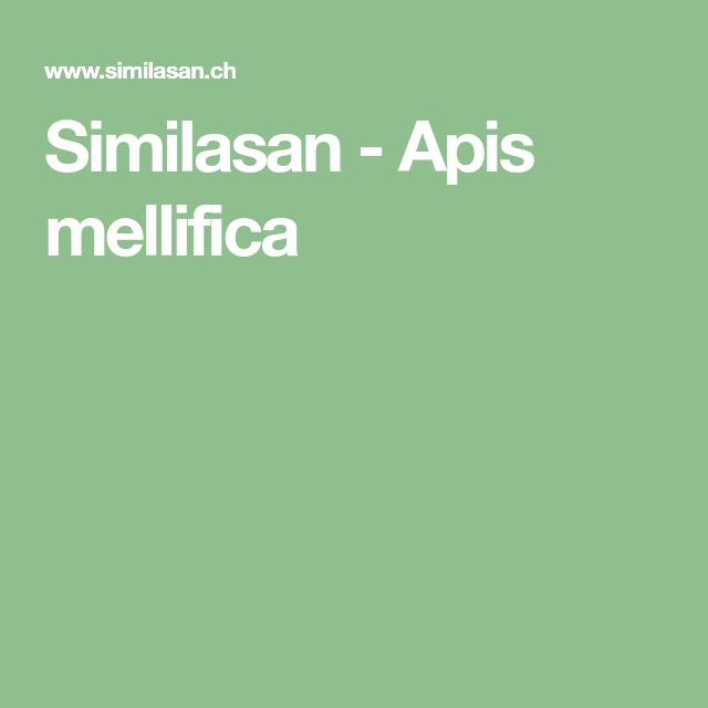 Similasan - Apis mellifica - Homeopathie, Produits