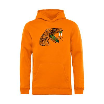 Florida A&M Rattlers Youth Classic Primary Pullover Hoodie - Orange