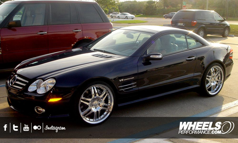 our client 39 s mercedes sl55 amg with 20 brabus monoblock. Black Bedroom Furniture Sets. Home Design Ideas