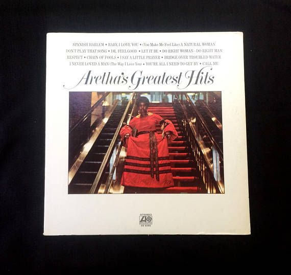 Aretha Greatest Hits Aretha Louise Franklin 33 Rpm Vinyl Little