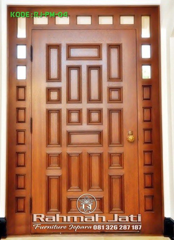 Pintu Kusen Furniture Jepara Bahan Kayu Jati Mahoni Solid Menyesuaikan Informasi Dan Pemesanan H Desain Pintu Masuk Desain Pintu Utama Desain Pintu Modern