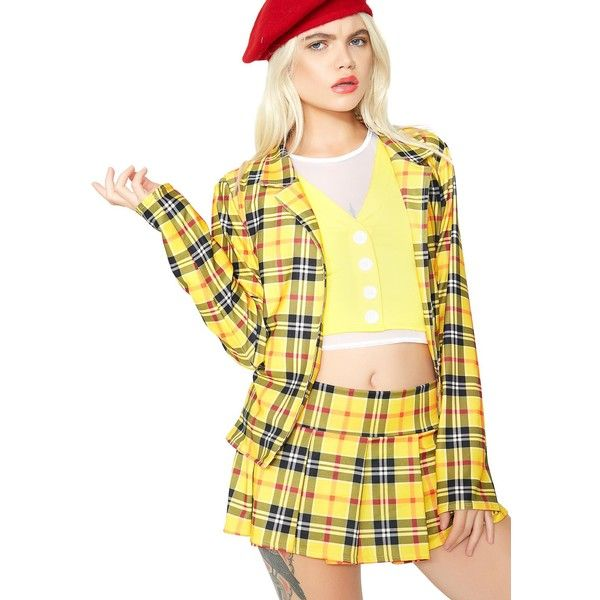 5021f89668 Roma Free Fast Shipping On Cher Clueless School Girl Costume Set At Dolls  Kill An Online Halloween U0026 Costumes Store. Shop Sexy Halloween Costumes  For .