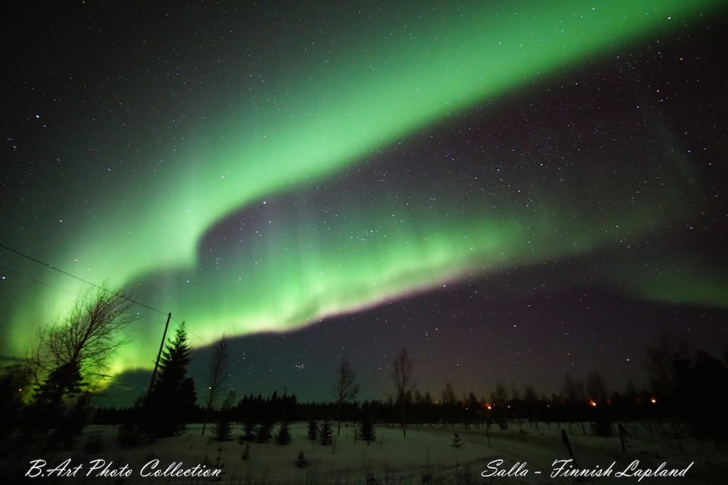 Auroras boreales desde Salla, Finlandia – El Universo Hoy