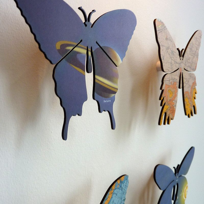 Making Unusual Diy Garden Decoration Yourself: Frameless Version Of Imagesurgery's Butterfly Series