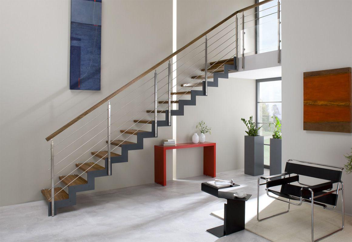 holz stahl treppe bucher treppen staircase