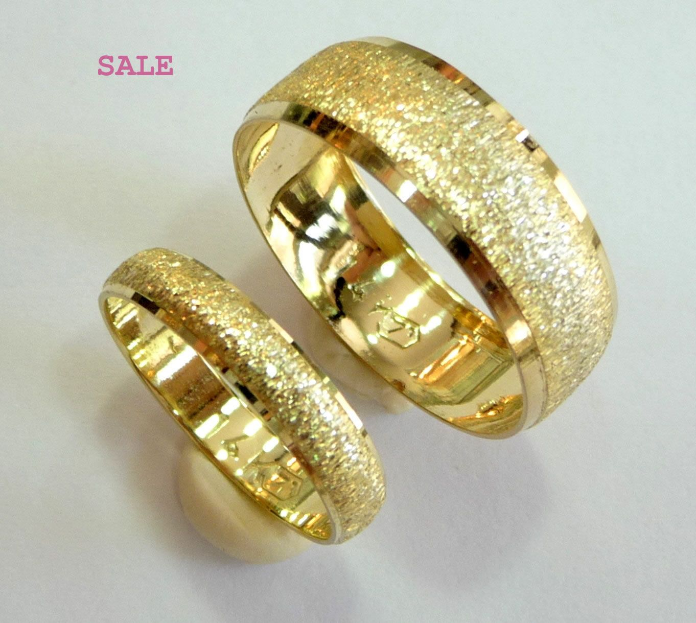 gold wedding bands singapore - Wedding Rings Gold