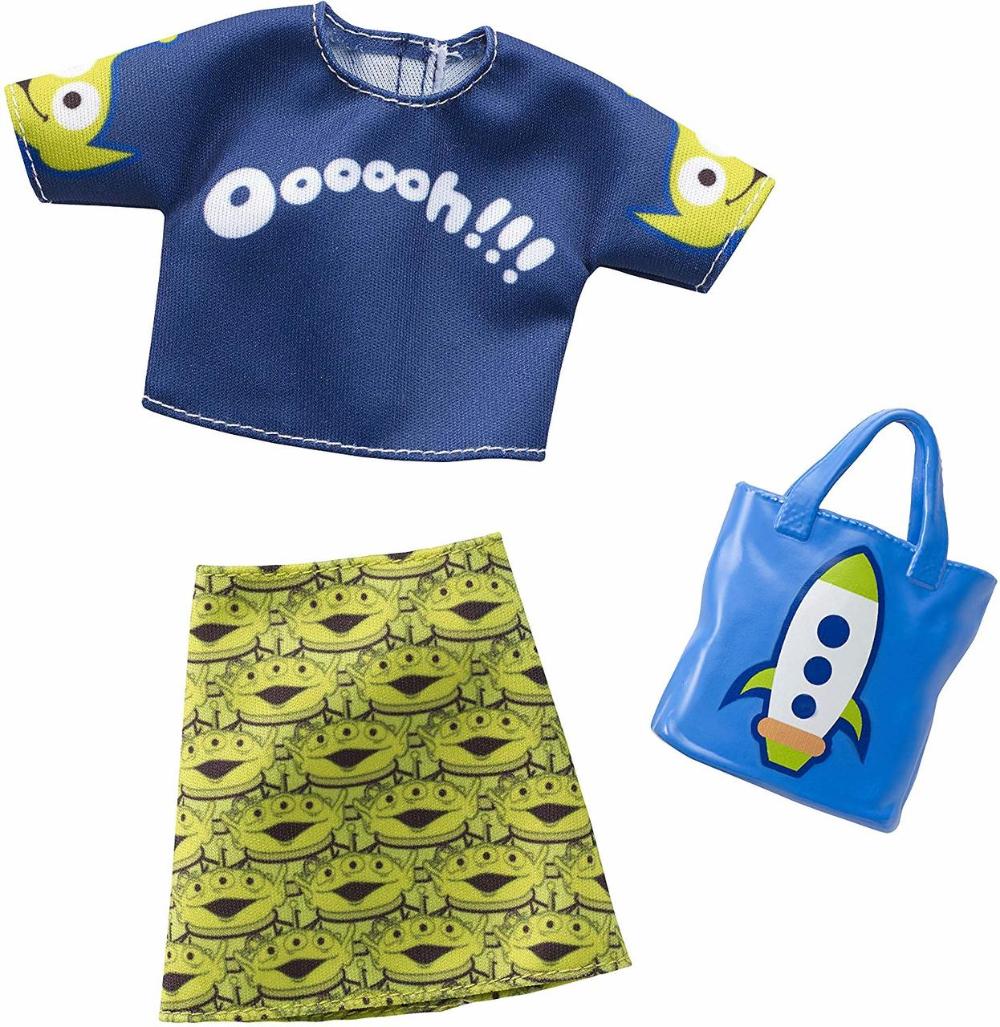 2019 Barbie Fashion Disney Pixar Toy Story 4 clothing outfit
