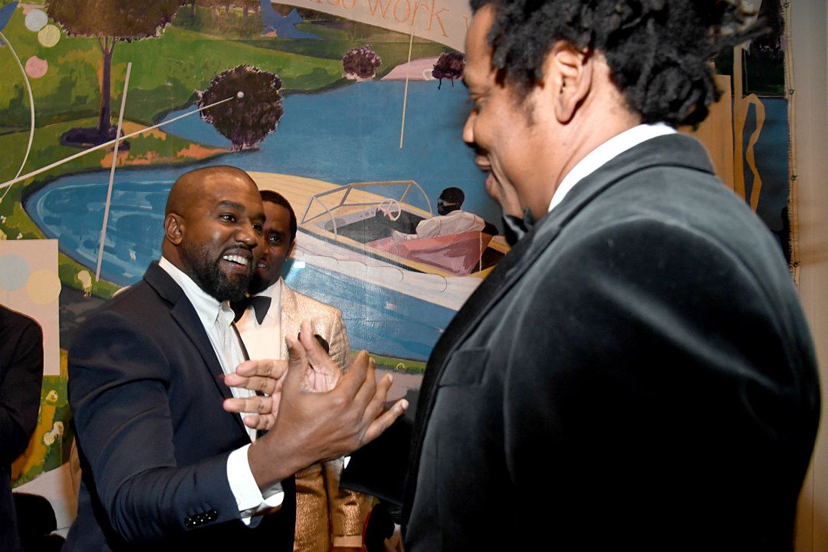 Jay Z And Kanye West Reunite Publicly For The First Time In Over Three Years Its Well Documented That Jay Z And Kanye Jay Z Kanye West Jay Z Sean Diddy Combs