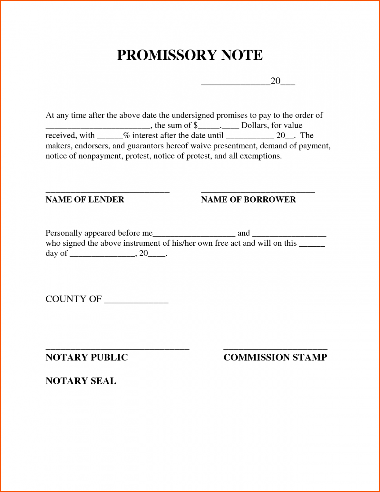 11 Sample Format Promissory Note Philippines Notes Template Promissory Note Itinerary Template