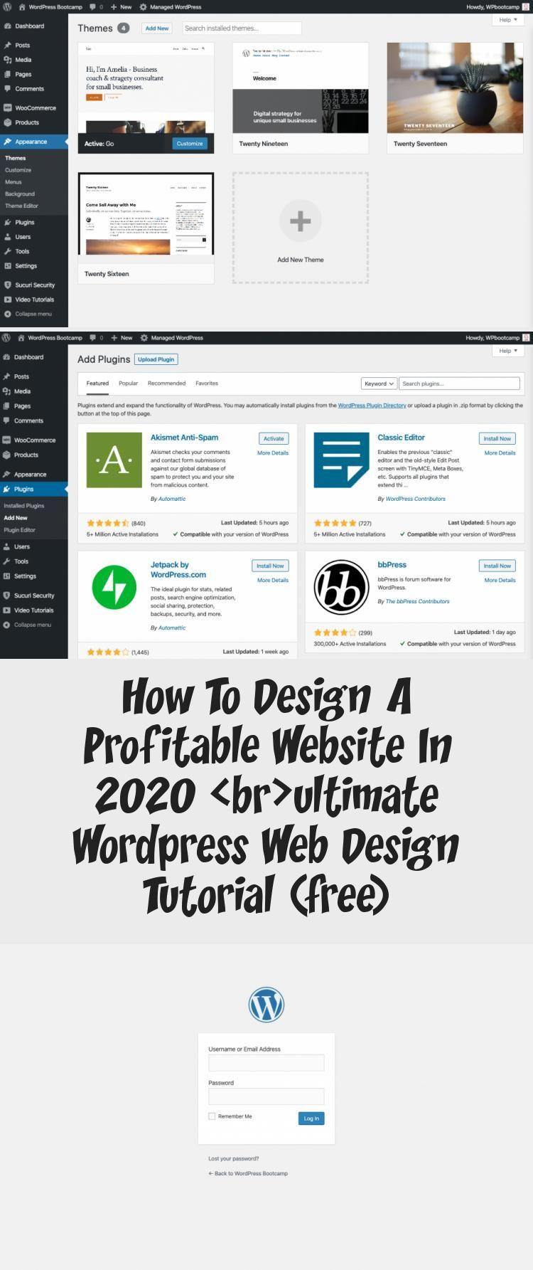 En Blog En Blog In 2020 Wordpress Web Design Web Design Tutorials Design Tutorials