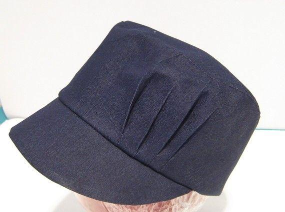 Basecap Schnittmuster für Plissee Detail Hut von McHats auf Etsy ...