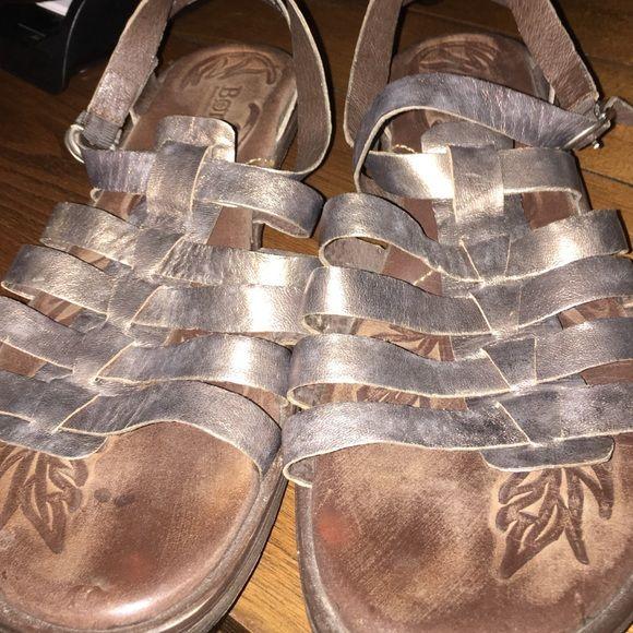 Born gladiator sandals Cute metallic gold Born Shoes Sandals