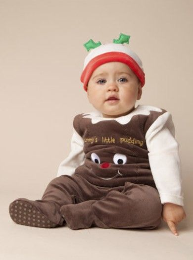 Christmas Pudding Baby Outfit.The Best Christmas Dress Up Outfits For Babies Parentdish