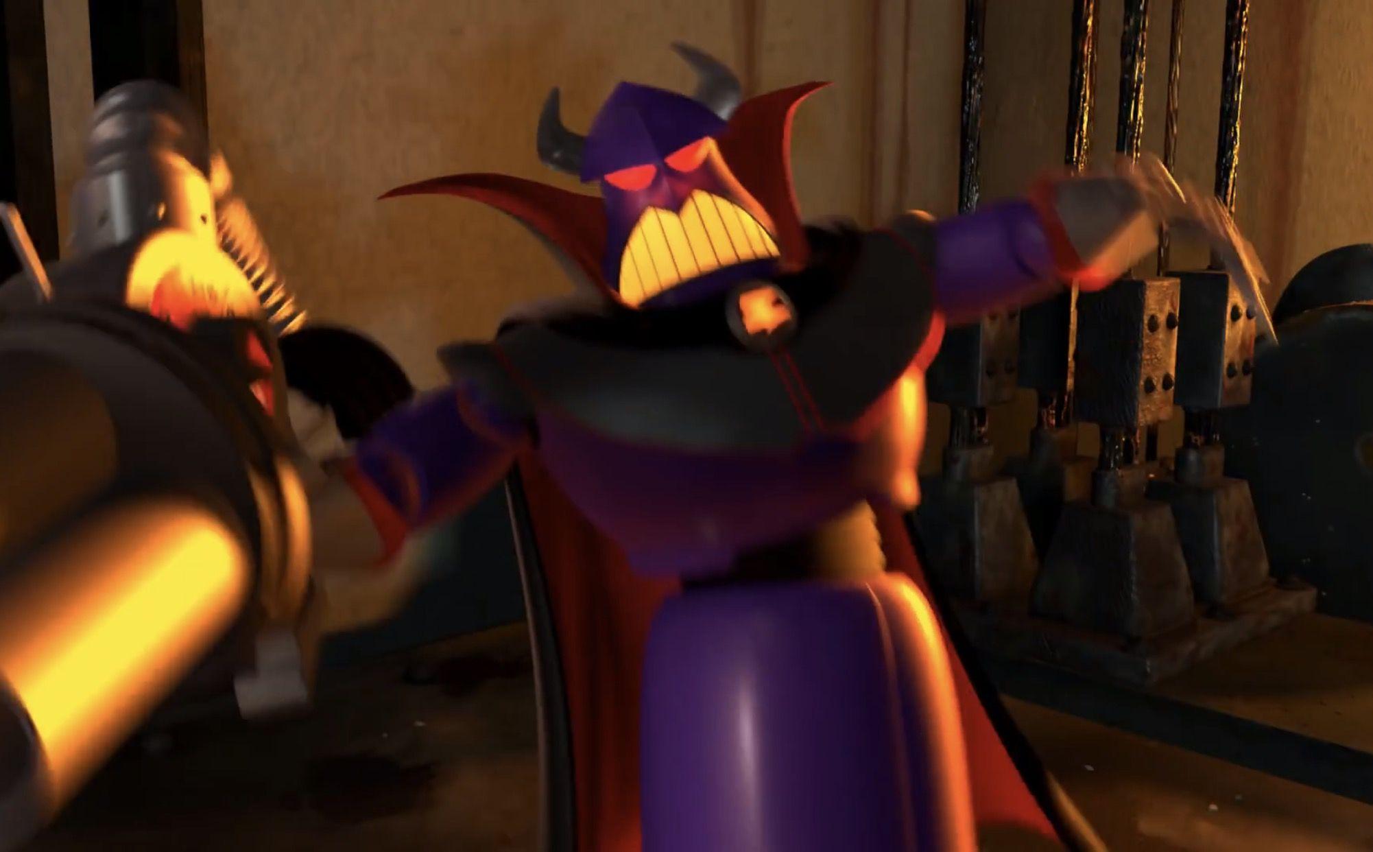Evil Emperor Zurg Toy Story 2 Toy Story Evil Novelty Lamp