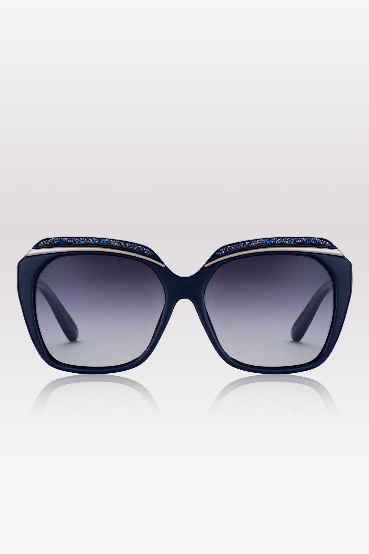 4206dd3de4008 DeMaris Oversize Square Sunglasses