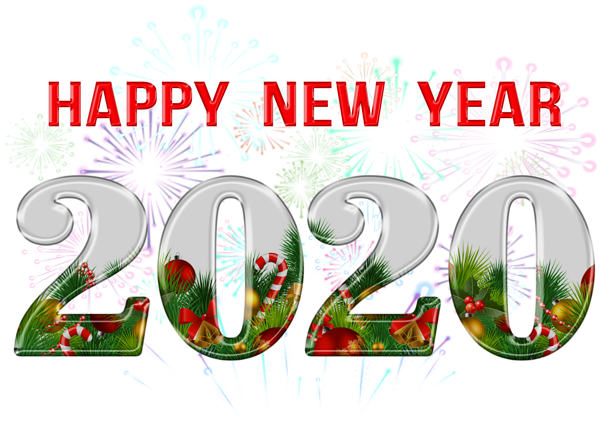 Happy New Year 2020 Png Clipart Gallery Yopriceville High Quality Images And Transparent Png Fre Happy New Year Png New Year Wishes Funny New Year Clipart
