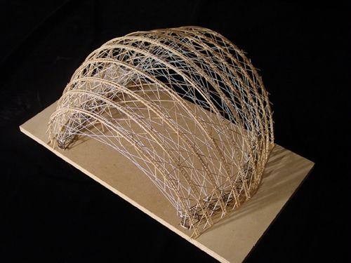 A Structures Model Shigeru Ban And Models
