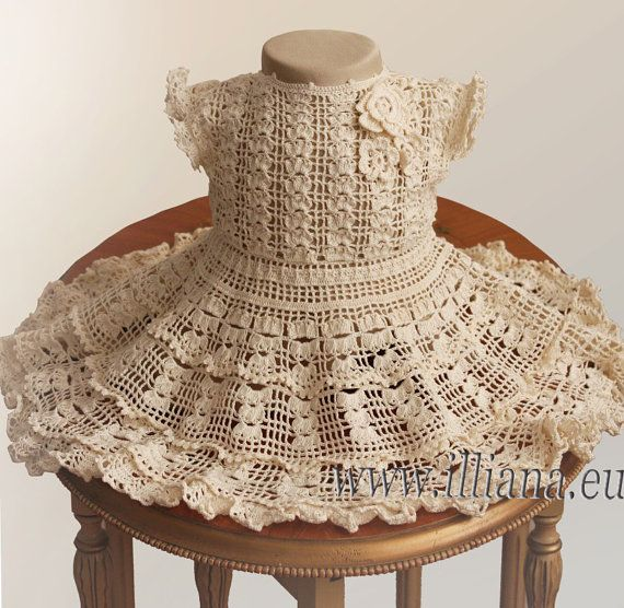 Crochet Dress Pattern / No 59 | Patrones de vestidos, Vestidos de ...