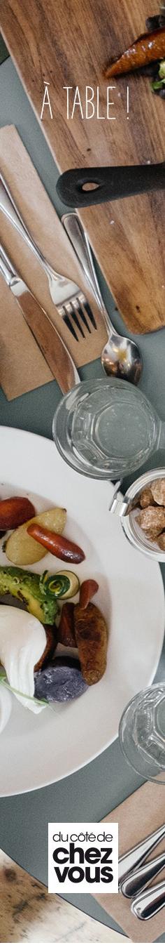 Des idées pour que votre salle à manger soit à la hauteur de vos invités ! #dccv #ducôtédechezvous #ducotedechezvous #table #nappe #deco #design #repas #diner