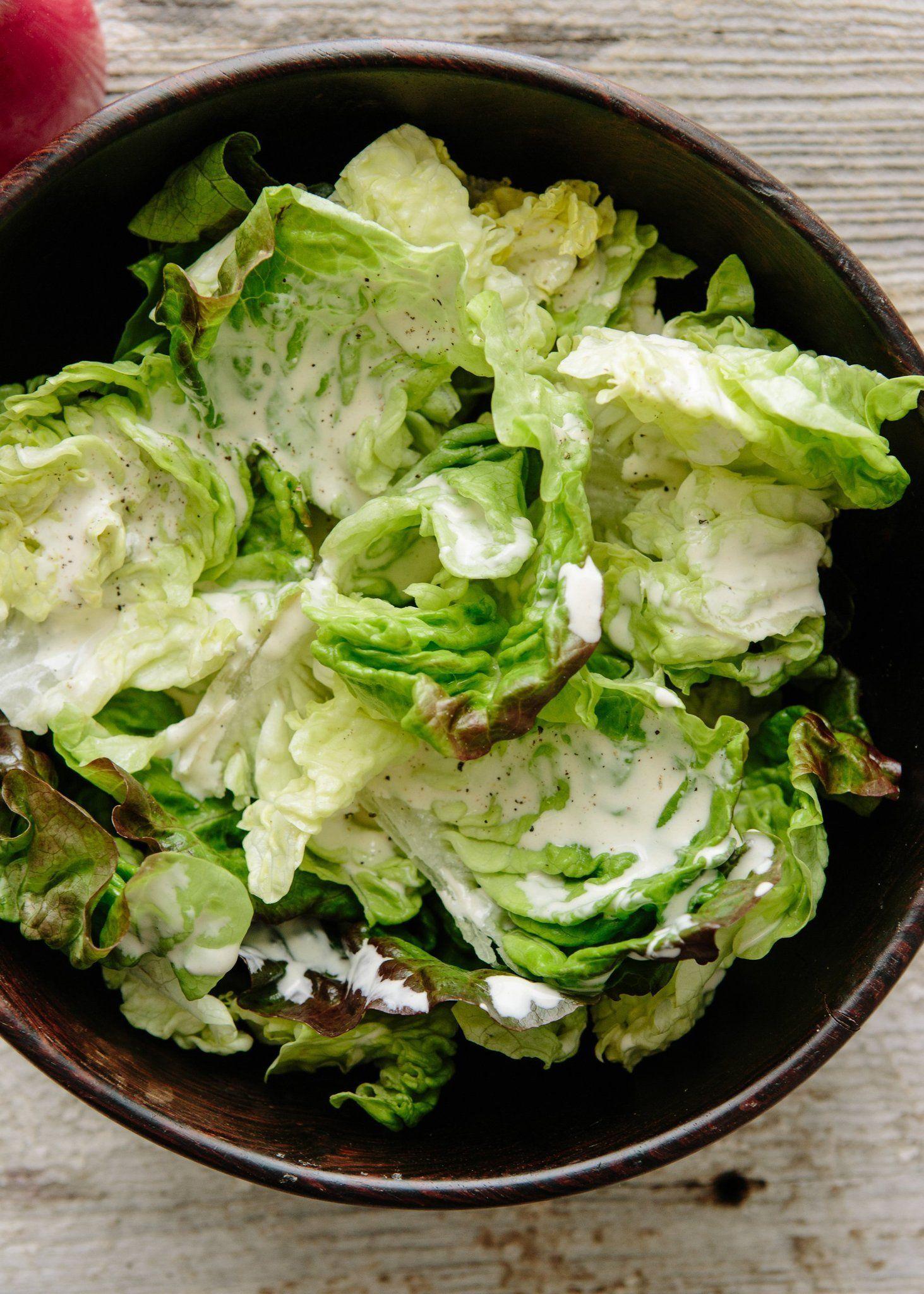 Recipe Two Minute Creamy Salad Dressing Recipe Creamy Salad Dressing Salad Dressing Recipes Homemade Salads [ 2048 x 1463 Pixel ]