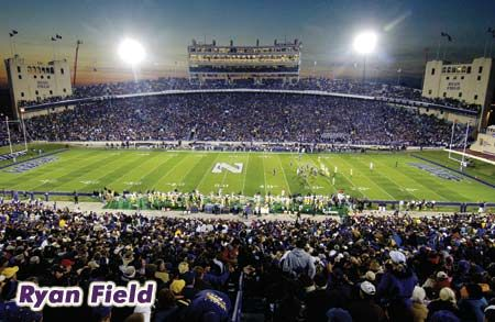 Northwestern Ryan Field Northwestern University Northwestern Illinois Football