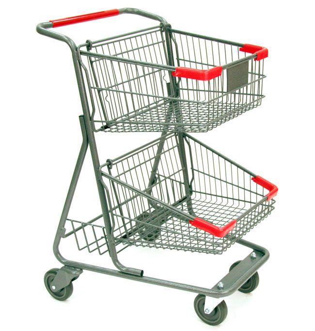 Two Tier Metal Ping Cart 73 Liter Http Www