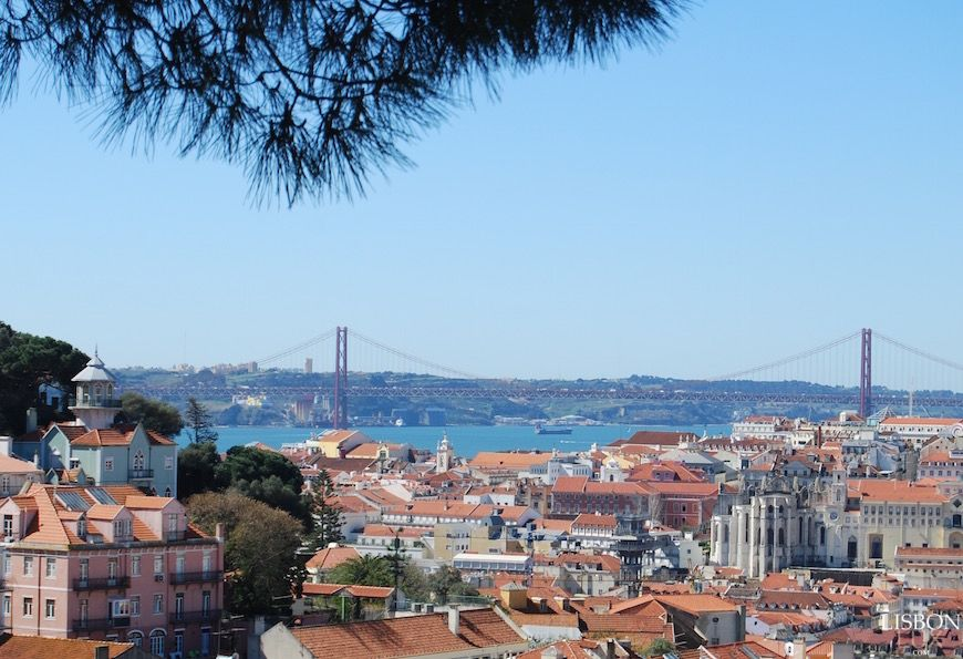Miradouro Da Graça Lisboa Graça Viewpoint Lisbon Viajar Ao Redor Do Mundo Lisboa Roteiros De Viagem
