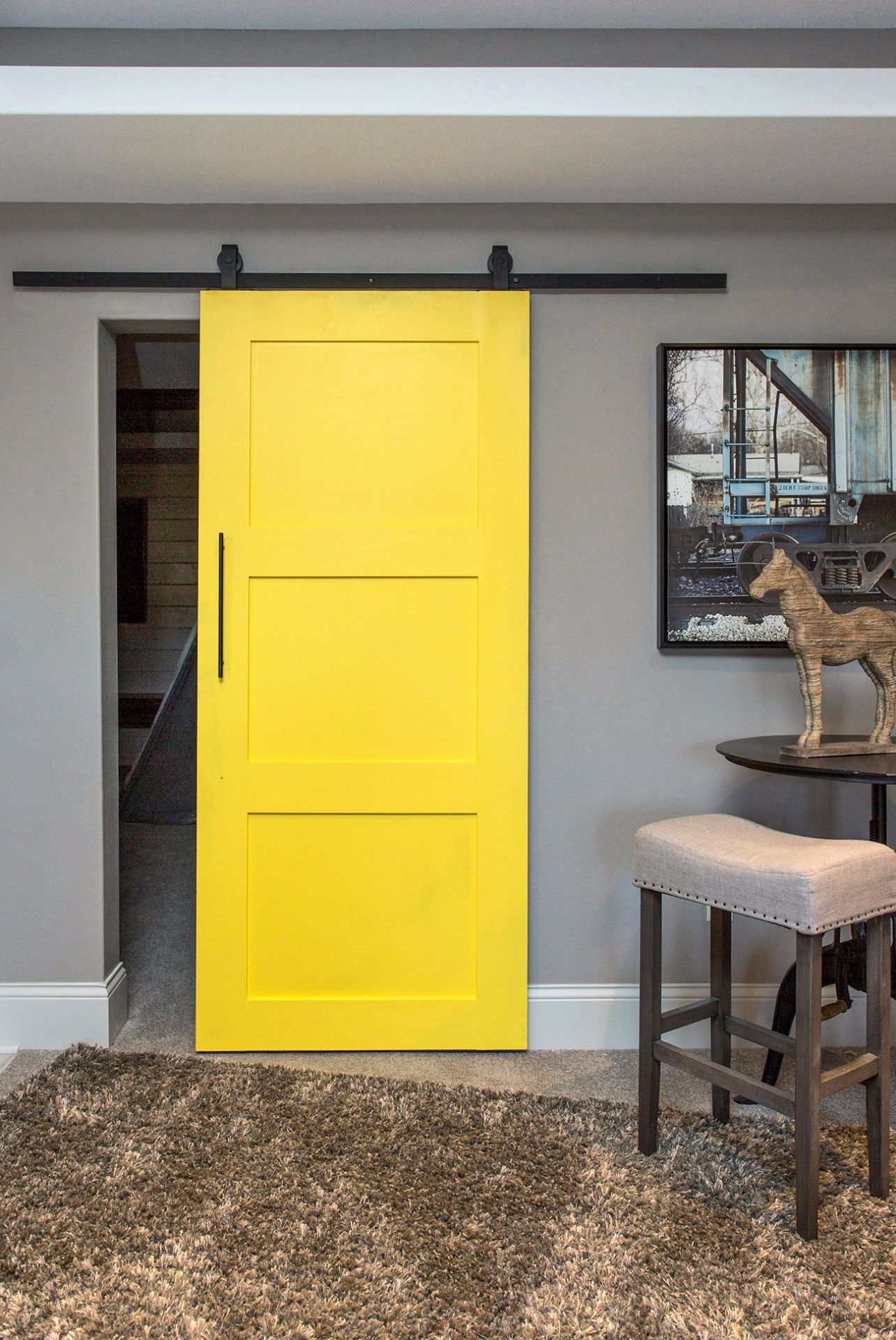 This Only Less Openings And White Barn Doors Sliding Doors Interior Sliding Doors Interior