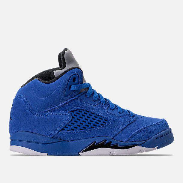 info for b4849 fe3f5 Little Kids' Air Jordan Retro 5 Basketball Shoes ...