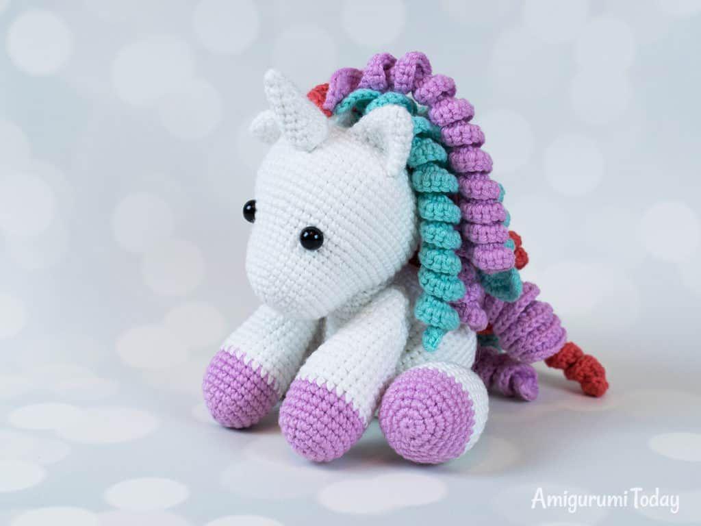 Amigurumi Pattern Premium: Unicorn Doll - Candy & Mint - Tarturumies | 768x1024