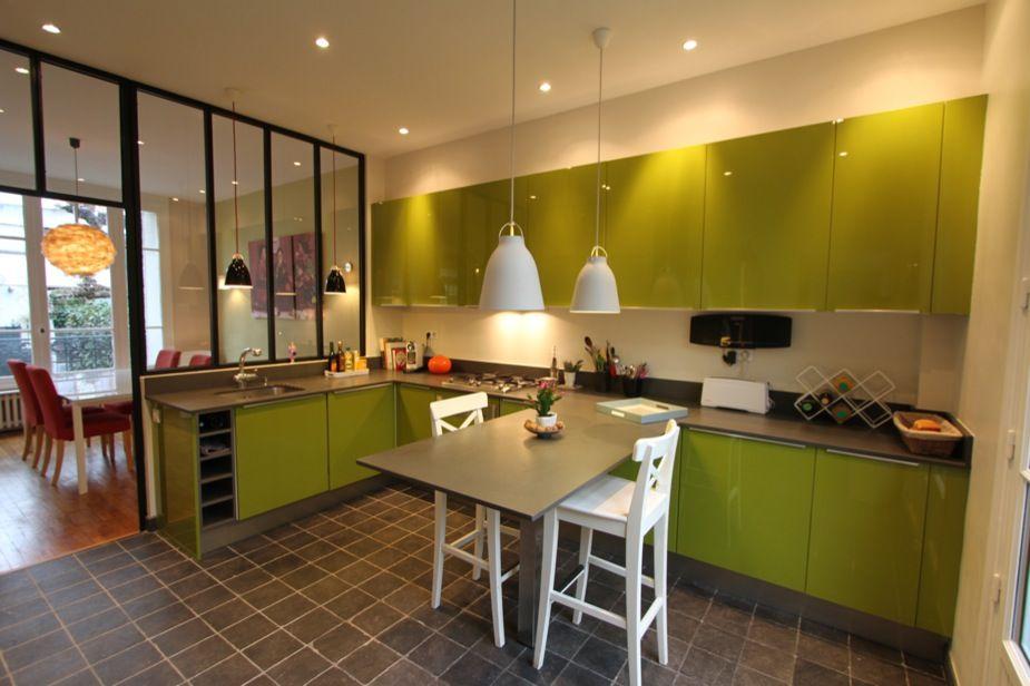 Maisons De Ville - Extensions\/bois Colombes Cuisine Pinterest