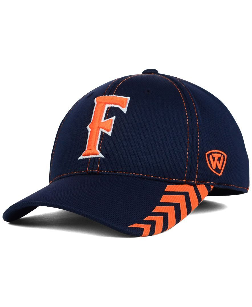 c78fa611f79 Top of the World Cal State Fullerton Titans Zoner Memory Fit Cap ...