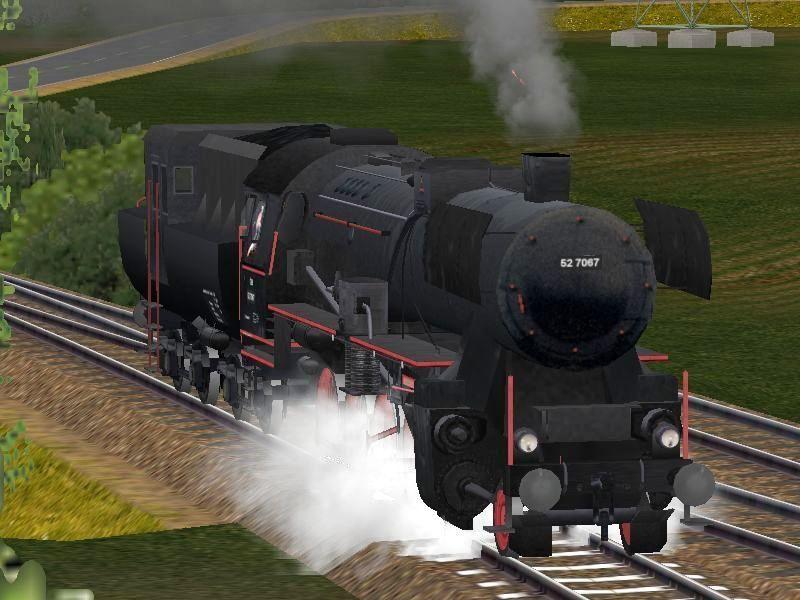 Dampflokomotive ÖBB 52-7067. Bis #EEP6 http://bit.ly/ÖBB-52-7067