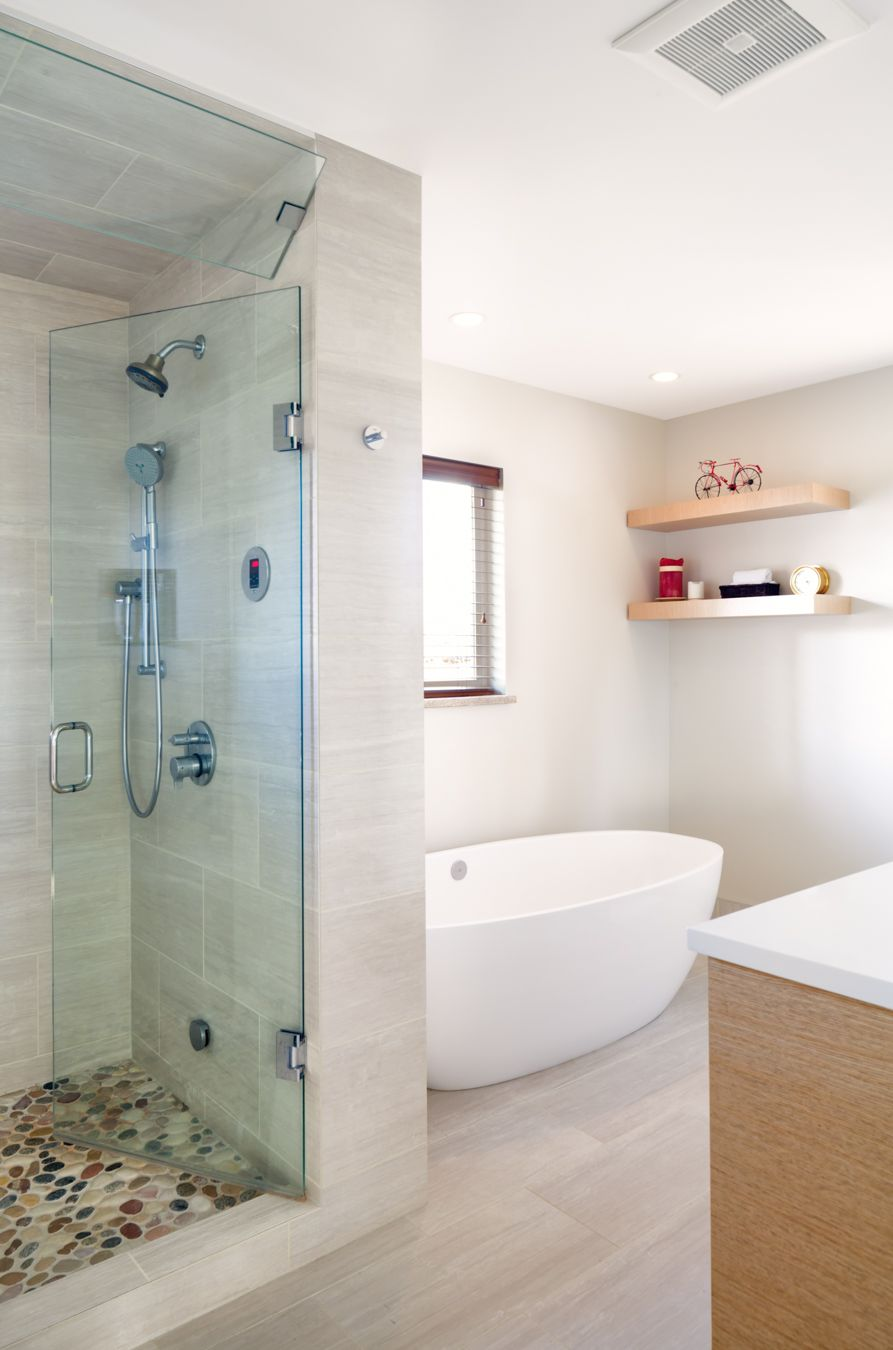 Refreshing 1950's Ranch - Hall Bath - Melton Design Build ...
