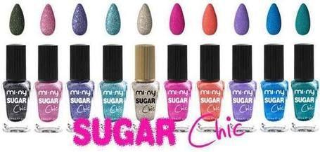 SUGAR CHIC Unghie ricoperte da granelli di zucchero... E-COMMERCE http://www.minycosmetics.com/colori.php?idcategoria=90  #nails #naillacquer #nailpolish #sugar #zucchero #chic #glam #fashion #style #miny #minycosmetics