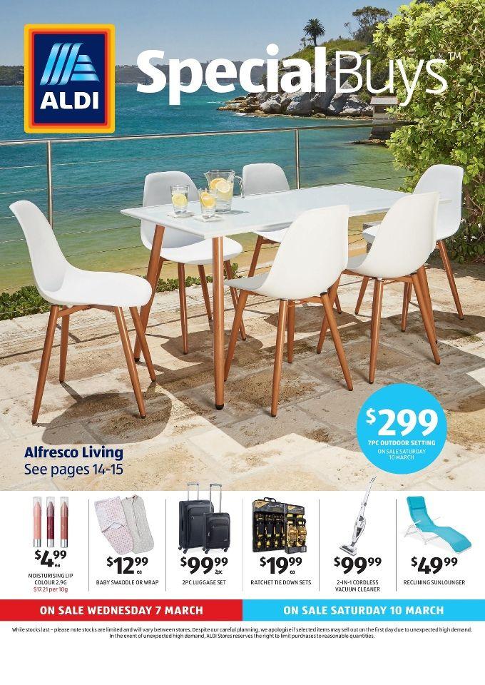 Aldi Special Buys Saturday 28 Mar 2020 Aldi Outdoor Settings