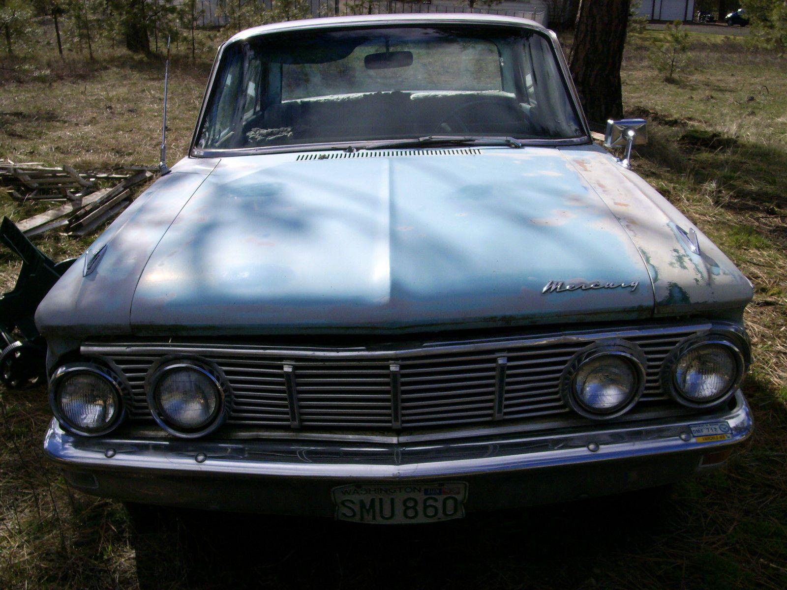 1963 Mercury et custom Salvage cars for sale