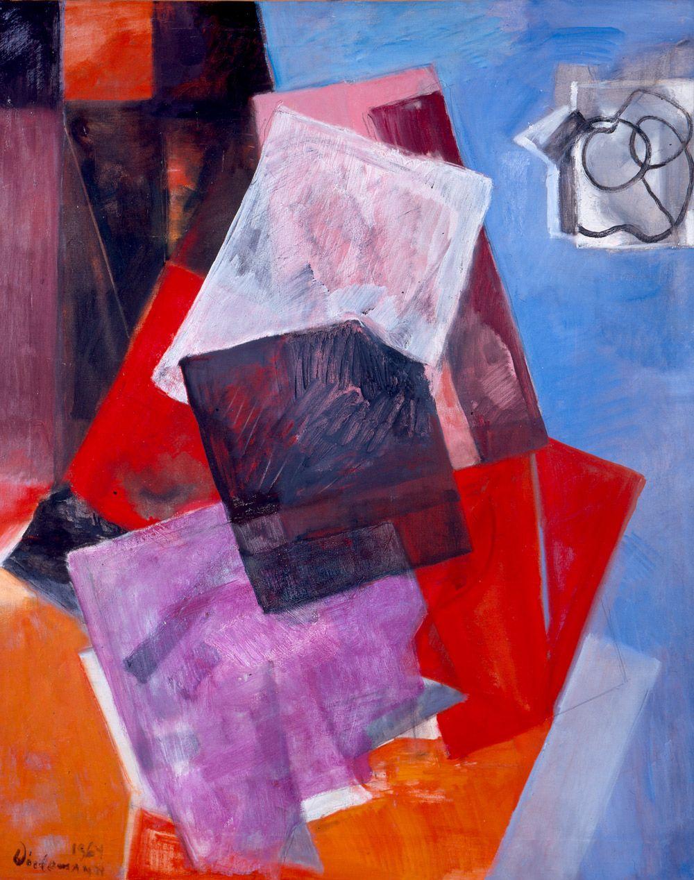 Formas diagonales - Guillermo Wiedemann | Arte, Formas, Bancos