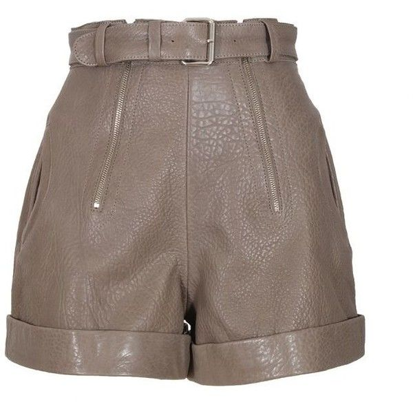 Carven Leather Shorts Lowest Price Cheap Online Discount Best Store To Get Shopping Online Cheap Online Clearance Supply 483nk
