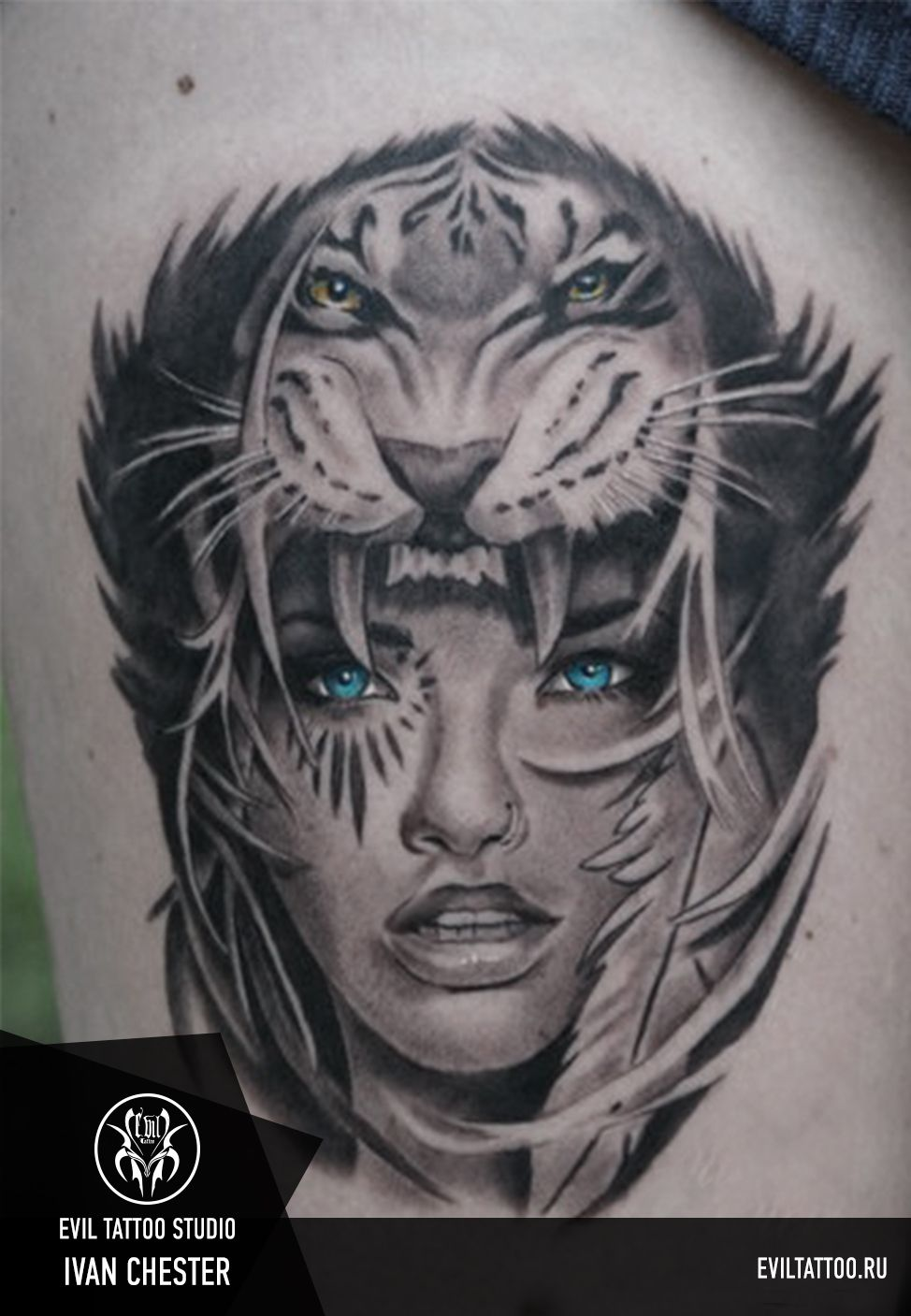 Tattoo by Ivan Chester