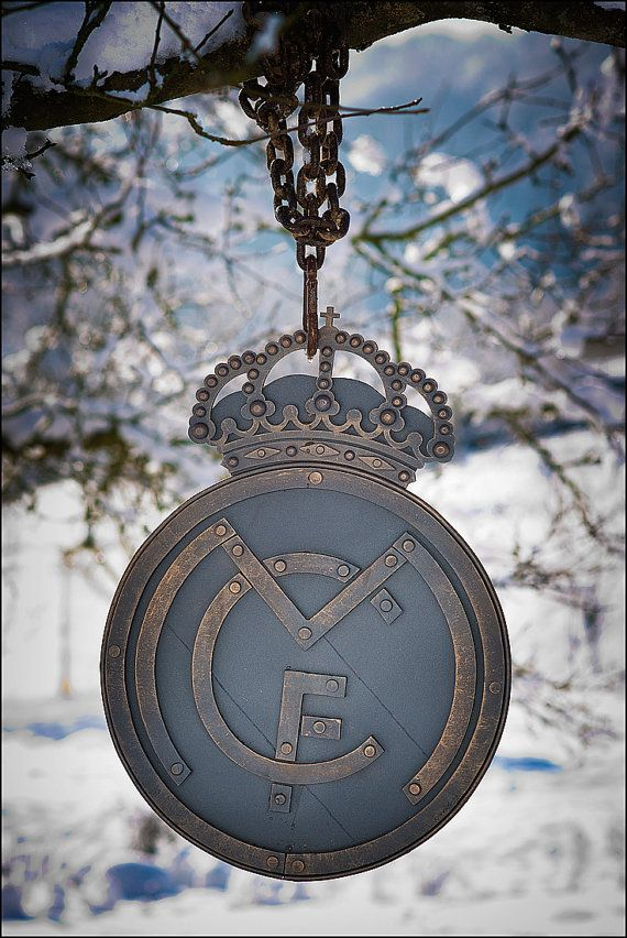 Real Madrid Hand Forged Wall Decoration Real Madrid Logo Etsy Real Madrid Logo Real Madrid Football Madrid Wallpaper