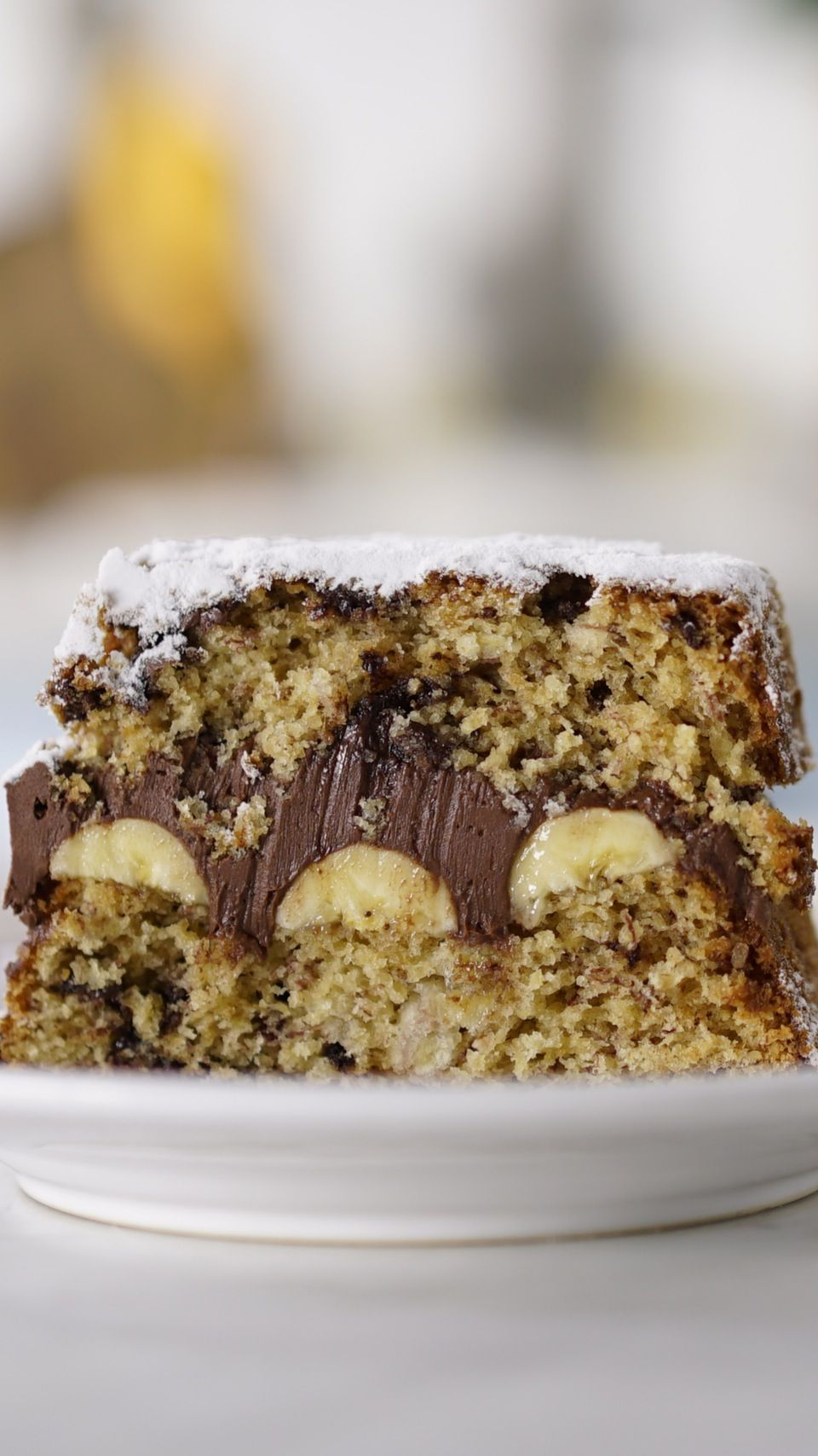 Bolo De Banana E Chocolate Receita Bolo De Chocolate Com Banana Receitas E Receitas Saborosas