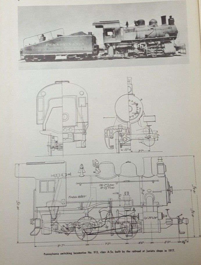 steam locomotive train diagram 0 6 0 switching no 913. Black Bedroom Furniture Sets. Home Design Ideas